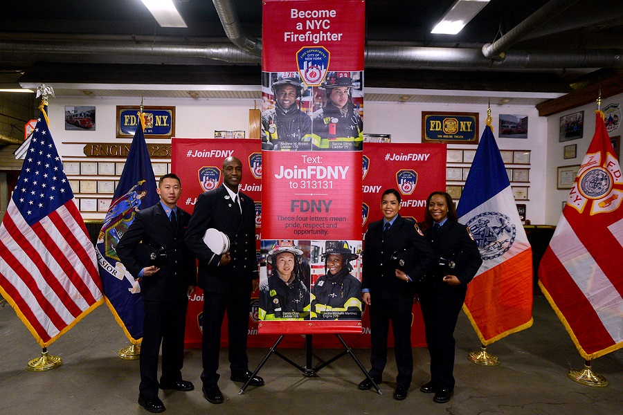 FDNY Recruiting banner