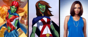 Sharon Leal in Supergirl