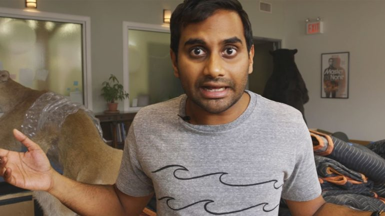 Aziz ansari texting ruined dating