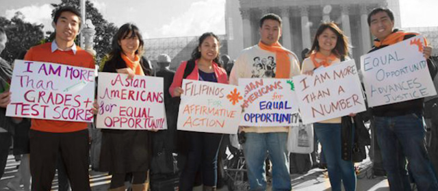 Asian Americans rally for affirmative action
