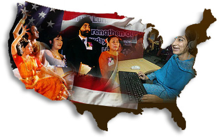 South Asian Americans Population growth