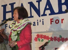 Rep Colleen Hanabusa