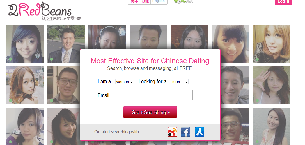Dating website chinese