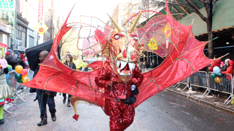 NYC's Chinatown Lunar New Year Parade Thrills Hearty Crowd – Year of the Sheep