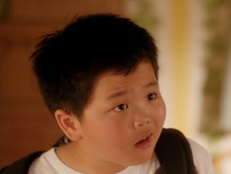 Asian american boy