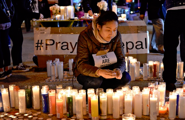 Two Asian Americans Among the Dead in Nepal as Death Toll Mounts. Vigil Held in New York