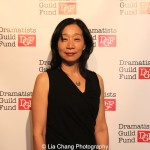 Diana Son attends the Dramatists Guild Fund's Gala: 'Great Writers Thank Their Lucky Stars' at Gotham Hall on October 26, 2015 in New York City. Photo by Lia Chang