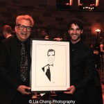Ken Fallin and Darren Criss attend the Dramatists Guild Fund's Gala: 'Great Writers Thank Their Lucky Stars' at Gotham Hall on October 26, 2015 in New York City. Photo by Lia Chang