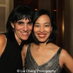 Leigh Silverman and Lia Chang. Photo by Garth Kravits