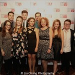 'Spring Awakening' alumni cast members attend the Dramatists Guild Fund's Gala: 'Great Writers Thank Their Lucky Stars' at Gotham Hall on October 26, 2015 in New York City. Photo by Lia Chang