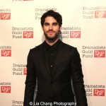 Darren Criss attends the Dramatists Guild Fund's Gala: 'Great Writers Thank Their Lucky Stars' at Gotham Hall on October 26, 2015 in New York City. Photo by Lia Chang