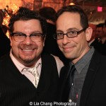 Robert Anthony Jones and Garth Kravits. Photo by Lia Chang