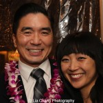 Greg Watanabe and Sara Clement. Photo by Lia Chang