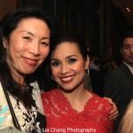 Jodi Long and Lea Salonga. Photo by Lia Chang