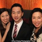 Kim Varhola, Michael K. Lee and Jodi Long. Photo by Lia Chang