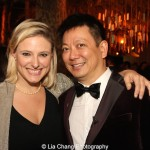 Laura Heywood and Jay Kuo. Photo by Lia Chang