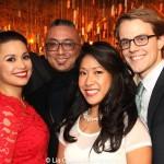 Lea Salonga, Paul Nakauchi, Kay Trinidad and Mike Karns. Photo by Lia Chang