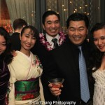 Momoko Sugai, Rumi Oyama, Greg Watanabe, Chris Nomura and Elena Wang. Photo by Lia Chang