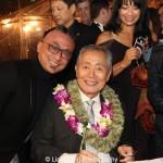Paul Nakauchi and George Takei. Photo by Lia Chang