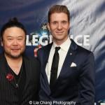 Stafford Arima and Lorenzo Thione. Photo by Lia Chang
