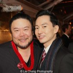 Stafford Arima and Michael K. Lee. Photo by Lia Chang