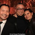 Victor Lirio, Paul Nakauchi and Liz Casasola. Photo by Lia Chang