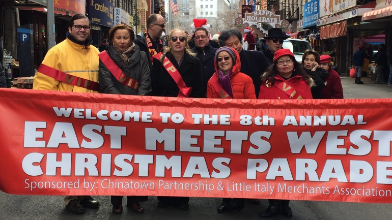 Chinatown & Little Italy Hold Eighth Annual Christmas Parade
