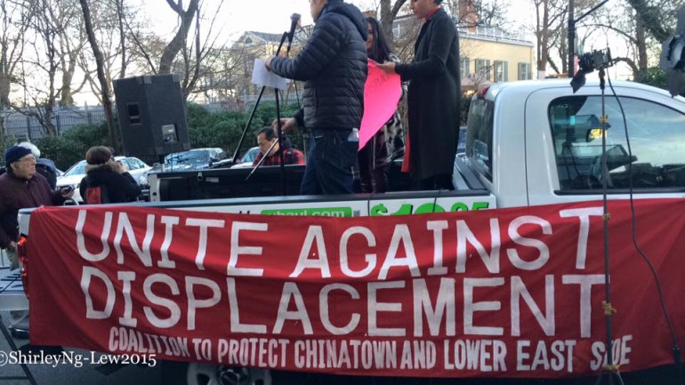Chinatown and the Lower East Side Rally to Fight Displacement