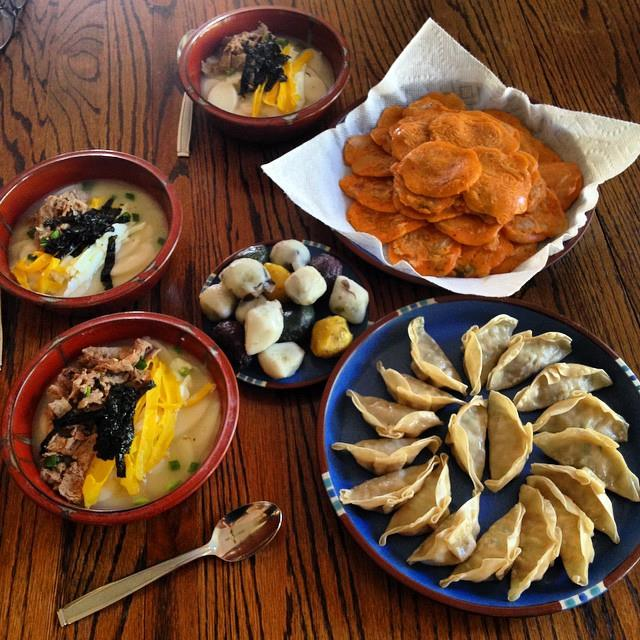 Traditional Foods For Seollal