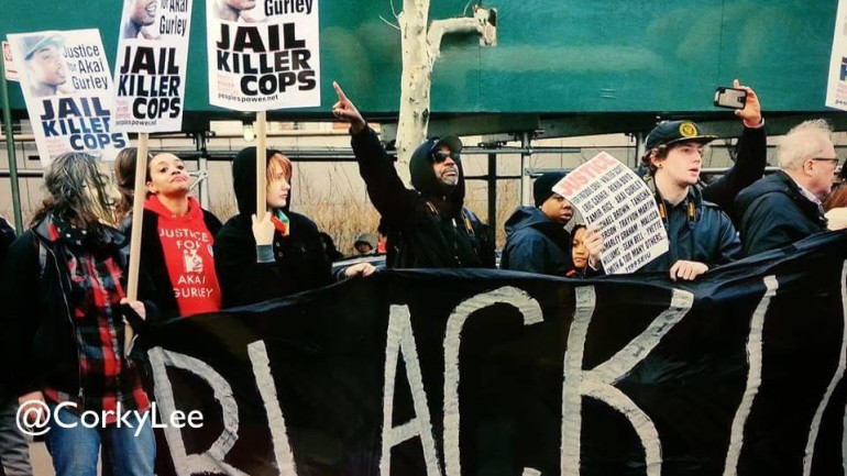 Tensions Erupt between Peter Liang and Black Lives Matter Supporters