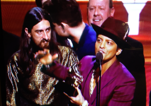 Bruno Mars at Grammys