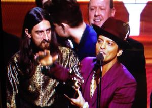Bruno Mars at Grammys