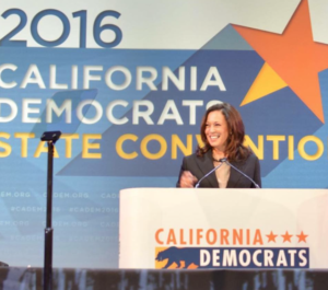 Kamala Harris at the California Democratic Convention