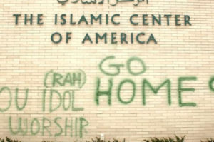 Anti-Muslim Graffiti