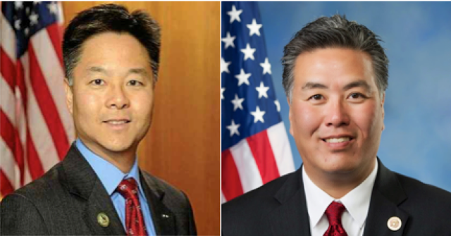 Ted Lieu and Mark Takano
