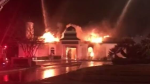 Mosque in Texas Burns Down