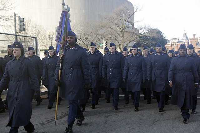 National Guard Preps for Trump Inauguration
