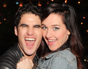 Darren Criss and Lena Hall