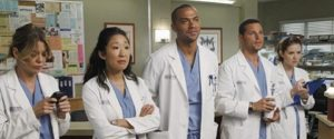 Asians are too rare in a setting that should have more Asian staff since Sandra Oh, 2nd from left, exited the show.