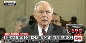 Jeff Sessions confirmed