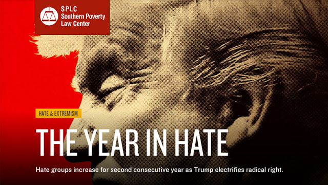 Southern Poverty Law Center Year of Hate report