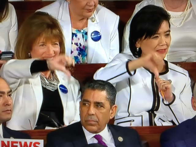 Rep Judy Chu Reacts to Presidential Address