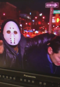 Cefaan Kim Attacked by masked man