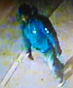 Surveillance photo of assault suspec