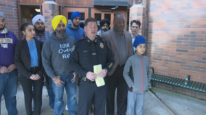 News conference about murder of Deep Rai