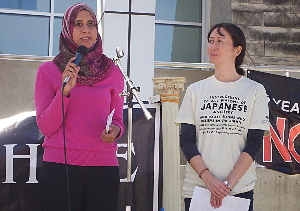 Protest against Muslim ban in San Jose