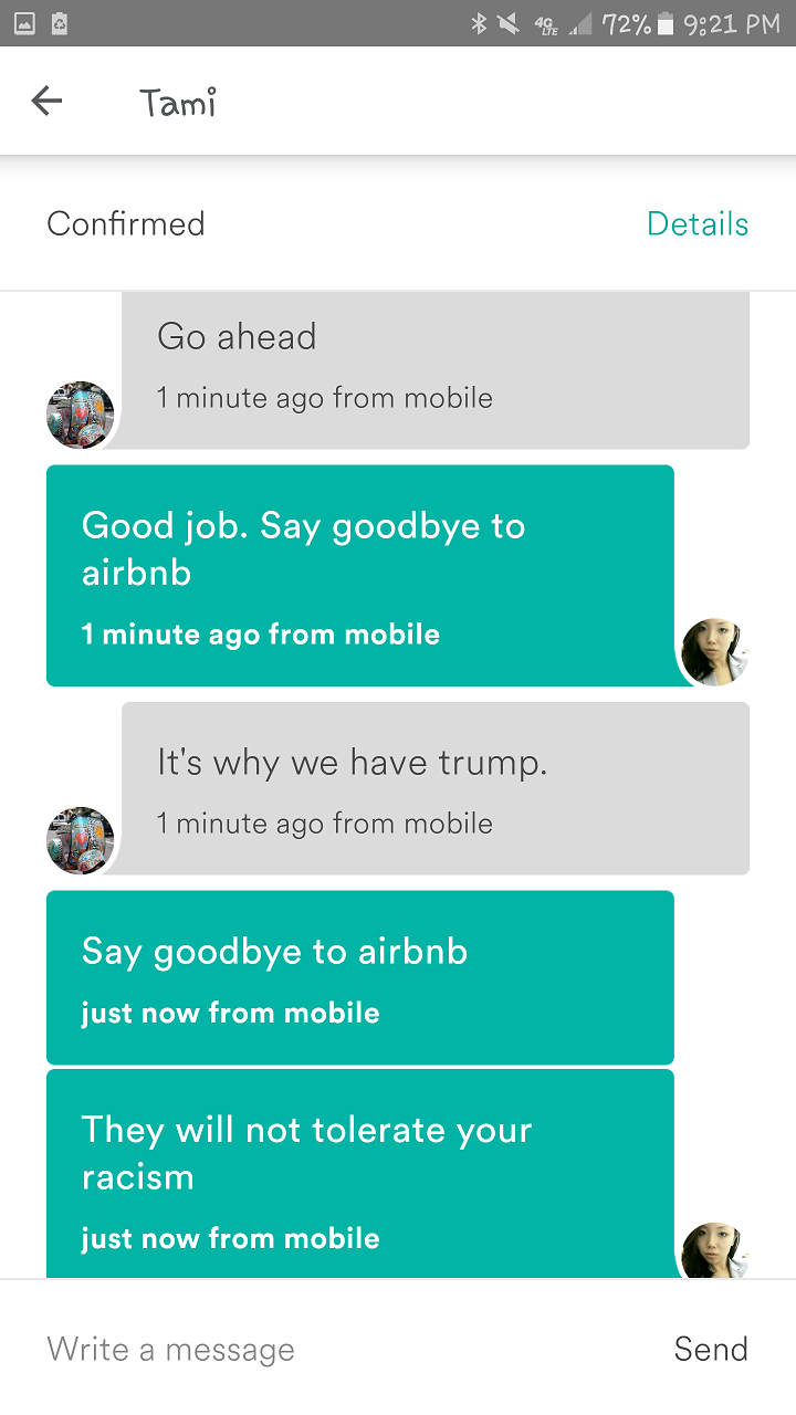 AsAm News | Host Dumped by Airbnb after Racist Incident Leaves Asian