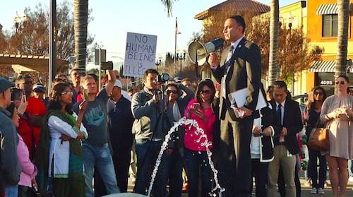 Anti-Hate rally in San Jose