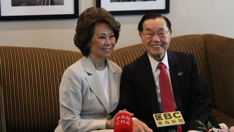 Secretary of Transportation Elaine Chao Visits Manhattan Chinatown