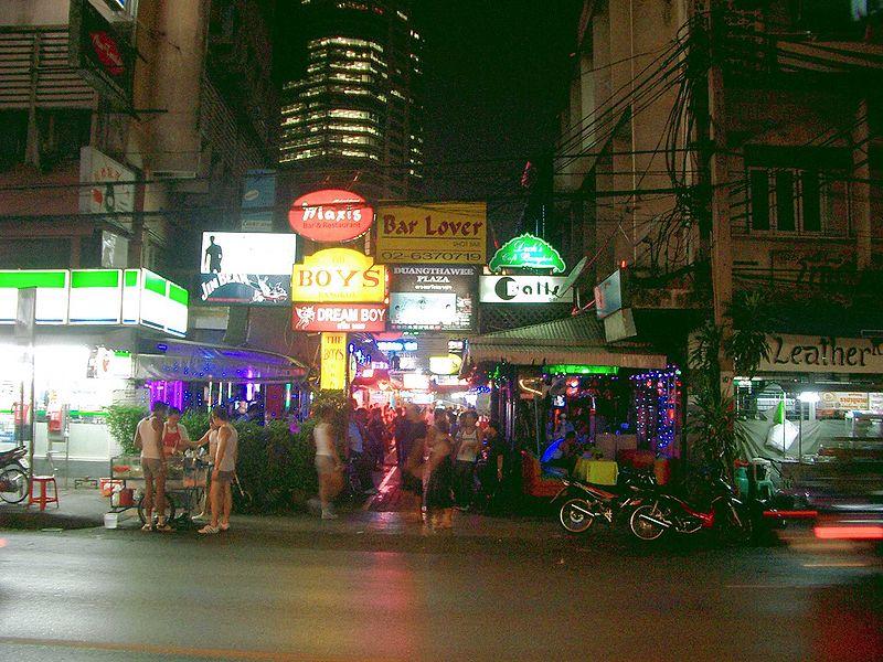 Banghok Red Light District
